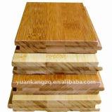 Comprimido pisos de ingeniería de bambú sólido