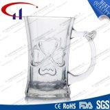 125ml cancelam o copo de vidro gravado para o café (CHM8159)