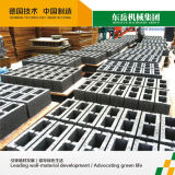 Machine de fabrication de brique complètement automatique des cendres Qt10-15 volantes