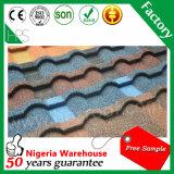 Tegel van het Dak van het Metaal van de Materialen van het Dakwerk van China de Kleurrijke Chinese Verglaasde Steen Met een laag bedekte