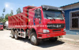 336HP Sinotruk HOWO 6X4のダンプカートラック