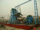 Navio de draga de areia de ferro para processamento de areia do mar