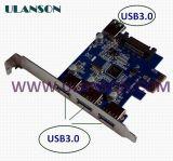 PCI-E USB3.0 внешней карты памяти 3 порта и 1 внутренних порта