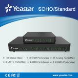 LAN&Wan ha sostenuto il sistema tutto compreso di linea di accesso al centralino privato del IP collega (max) il telefono del IP 100 per SMB (MyPBX SOHO/Standard)