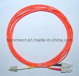 Sc-LC Duplex 50/125 MM Cable de fibra óptica