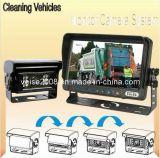 Système de moniteur d'appareil-photo de voiture de camion d'ordures avec l'appareil-photo automatique d'obturateur