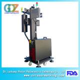 машина маркировки лазера волокна 20W 30W и 50W Ipg для трубы, пластмассы PVC/HDP/PE/CPVC и металла