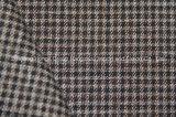 Tela teñida hilado de T/R, estilo de la tela escocesa, poliester del 63%, rayón del 34%, Spandex del 3%