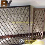 Ampliado de aluminio del metal del acero de la pantalla de seguridad de Windows