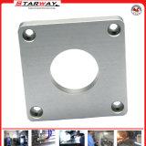 Kundenspezifisches Aluminiumteil mit der CNC maschinellen Bearbeitung