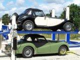 Сжатый Lifter стоянкы автомобилей 4 столбов