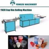 Yxcr 플라스틱 컵 변죽 회전 기계 또는 플라스틱 가장자리 컬 기계 또는 플라스틱 컵 운 기계 또는 컵 입 회전 기계 또는 자동적인 컬 기계