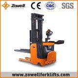 Zowellの熱い販売Ce/ISO90001 1.6mの持ち上がる高さの電気スタッカー上の2トンの覆い