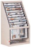 Mobilio scolastico, libreria Fruniture, mensola di carta di notizie (DG-14)