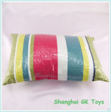 Pillow with Shine Sequins Cotton Pillows