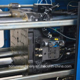 Machine en plastique de moulage par injection pour produire la préforme et le chapeau