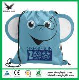 Backpack Drawstring шаржа детей формы промотирования животный