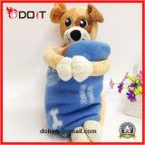 Cobertura de pelúcia macio Cobertura de brinquedo de pelúcia Cobertor de peles de cachorro