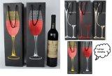 De Zak van kraftpapier/de Zak van de Wijn/de Zak van Kleren/het Winkelen Zak/de Zak van het Document/de Zak van de Gift