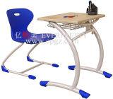 Fabricante escritorio y silla fijos de Furnitue de la escuela de solos para la venta