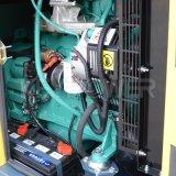 225ква бесшумный тип питания дизельного двигателя генераторной установки