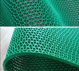 PVCプラスチックビニールの網Z Sの形のドアのフロアーリングの床ロールランナーのマット