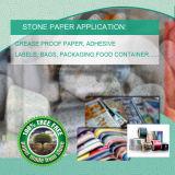 Papier synthétique mixte en polyéthylène HDPE pour étiquettes et récipients pour aliments