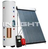 Split chauffe-eau solaire conduit de chaleur Bobine simple