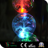 Lichten van de Ballen van het Ornament van Kerstmis de Kleine met Stam