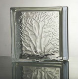 190*190*80mmの珊瑚の明確なガラスレンガ(JINBO)