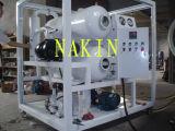 필터하는 두 배 단계 진공 절연제 기름, 기름 물 분리기