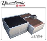 Almofadas de resfriamento evaporativas para a temperatura da casa de aves de capoeira
