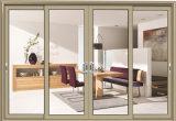 Doppelverglasung-Aluminium-Schiebetür für Hotel-Projekt