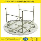 Сильный пластичный напольный круглый складной столик