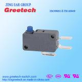 Micro- van de Fabriek van China Zwarte Schakelaar 5A 250VAC voor ElektroApparaten en Apparatuur