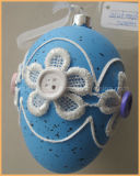 東の装飾のための多色刷りのガラス卵の装飾