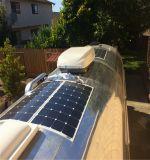 2016 Shenzhen Pet Sunpower Painel solar semi flexível 100W com saída 18V para celular Bateria para laptop