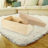 Progettare il contenitore per il cliente di regalo di legno ecologico dell'annata