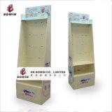 環境に優しい高品質の衣服のためのカスタム床のペーパーボール紙の陳列台