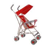 Vente en gros simple de vélo de poussette de bébé de couleur rouge