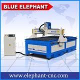 Máquina de trabalho de madeira do plasma do CNC do preço do router do CNC com a tabela da estaca do plasma para a venda