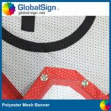Bandiera di pubblicità su ordinazione all'ingrosso della maglia del panno dello schermo del tessuto del poliestere stampata sublimazione
