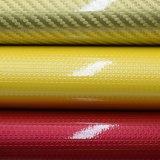 Buntes Patent-Drucken, das PU-ledernes synthetisches Handtaschen-Beutel-Leder glänzt