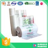Мешки замораживателя HDPE напечатанные таможней на бумажном сердечнике