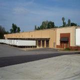 Armazém de distribuição pré-fabricado da loja da construção de aço