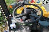 Mini máquina del uso de la granja del cargador de la rueda de Zl16f para la venta