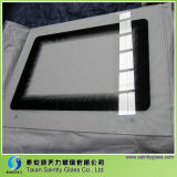 Glass Factory 4mm 5mm Résistant à la chaleur Custom Cut Oven Door Tempered Glass