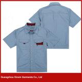 Workwear personalizado do algodão da forma para os homens e as mulheres (W160)