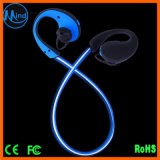 2017 LED Light Flash Auricular sem fio Bluetooth com bateria de 120mAh Venda quente