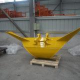 Peças de máquinas de construção de escavadeira de balde trapezoidal para venda